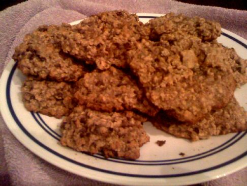 Andi's Oatmeal Chocolate Chip Cookies