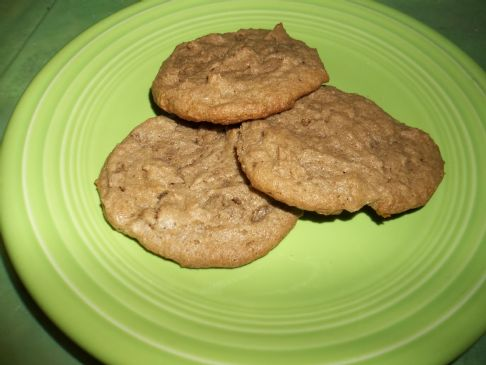 Clean, Dairy and Flour free Peanut Butter Cookies