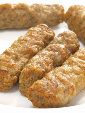 Vegan Gluten Free Breakfast Sausage (serving = 2 patties)