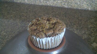 Whole Wheat Lemon Zuchinni Muffins