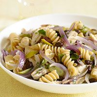 Warm Sweet and Savory Pasta Salad