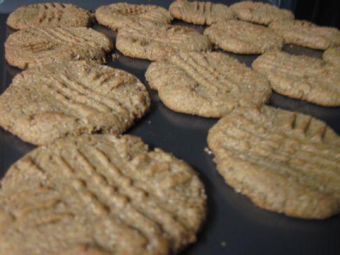 Peanut Butter Rye Cookies