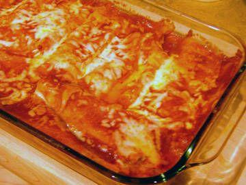 Neufcharel chicken Enchiladas