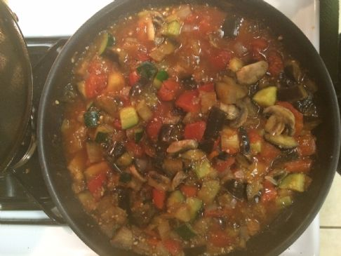 Allison's Simple Ratatouille