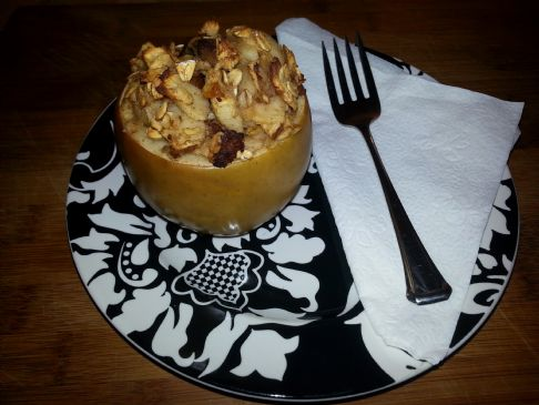 Breakfast Baked Apples (Vegetarian)