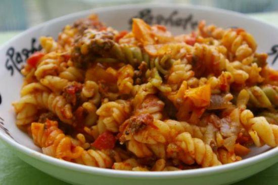 Italian Sausage Pasta with Veggies
