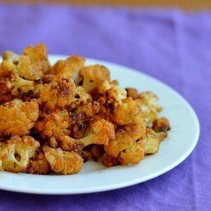 Roasted Cauliflower Bites