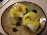 Low Cal Eggs Benedict