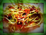 Slimdown With Sandee's Sesame Ginger Salad Wrap