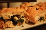 Goat Cheese & Spinach Chicken Pinwheels