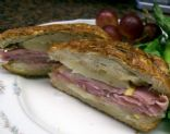 Panini Ham & Cheese Sandwich with Pears