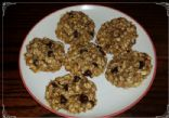 3-ingredient Banana Oat Chocolate Chip Cookies