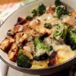 Chicken and Broccoli Alfredo with Greek Yogurt
