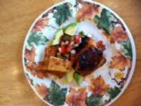 Honey-Lime Chicken with Salsa