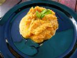 Creamy Basil Carrot Mash