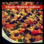 Cheesy Mexican Quinoa (from TheLeanGreenBean.com)