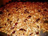 Cinnamon Craisin Almond Granola
