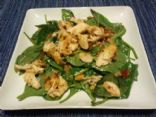 Honey Mustard Spinach Salad