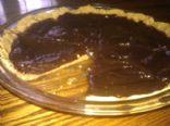 Banana Chocolate Pudding Pie (with graham cracker crust)