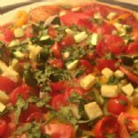 Veggie Pizza (No Cheese) Quick Prep