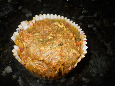 Carrot and Zucchini Muffins