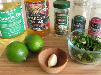 Cilantro Lime Viniagrette