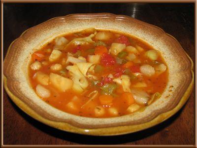 Italian Chickpea Artichoke Stew
