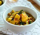 Curried Vegetables anc Chickpea Stew