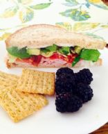 Healthy One's Turkey Sandwich