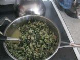 Spinach Mushroom Feta Breakfast Burritos