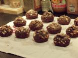 Rich low fat low sugar chocolate muffins