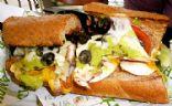 Stuffy's Italian Veggie Sub with Salami