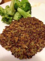 Red Quinoa Veggie Burgers