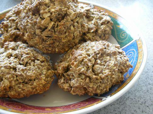 Flax Seed Oatmeal Cookies