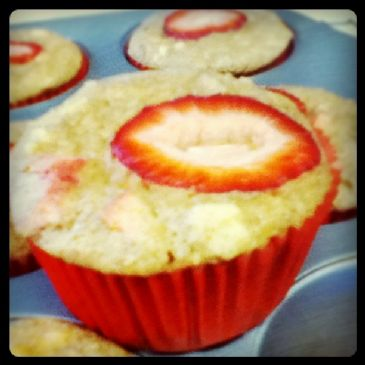 Healthy Rhubarb Muffins Recipe Sparkrecipes