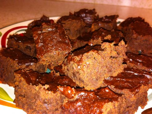 Low Fat Date Brownies