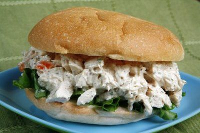 Chicken salad sandwhich