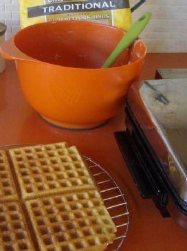 Lo carb Pork Rind Waffles