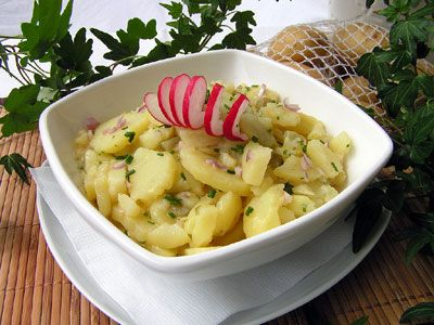 Grandma's Bavarian Potato Salad