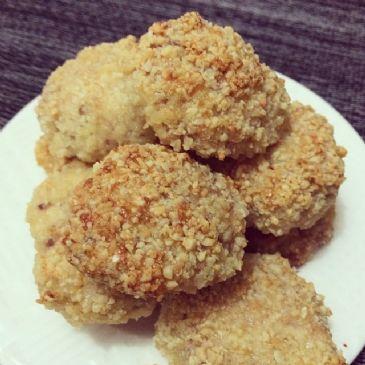 Almond Breaded Chicken Nuggets