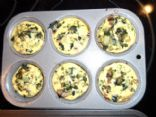 Chicken Sausage, Egg Whites, Spinach, Onion, & Mushroom Muffin