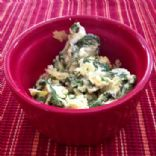 Swiss Scrambled Eggs and Kale