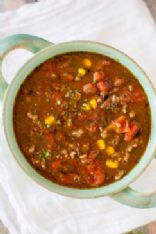 Taco Soup with Hominy