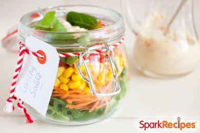 Simply Delicious Mason Jar Salad
