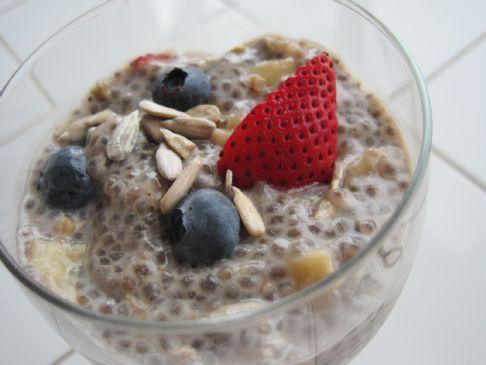 Chia Seed Fruit Bowl