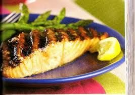 Grilled Salmon with Korean Barbecue Glaze