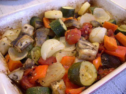 Texan Vegetable Casserole