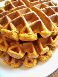 Pumpkin waffles Revised