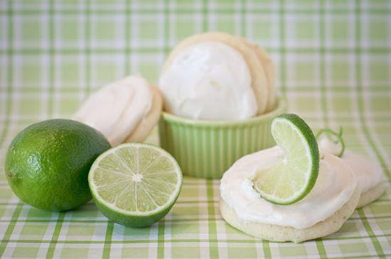 Margarita Lime Cookies (Vegan)
