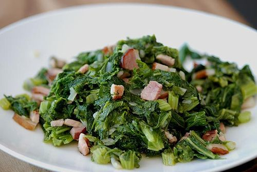 Southern Mustard Greens Recipe Sparkrecipes